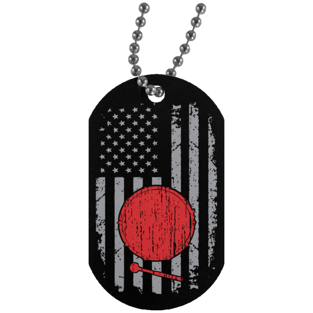 American Bass Drum Dog Tag - MainTune - 1