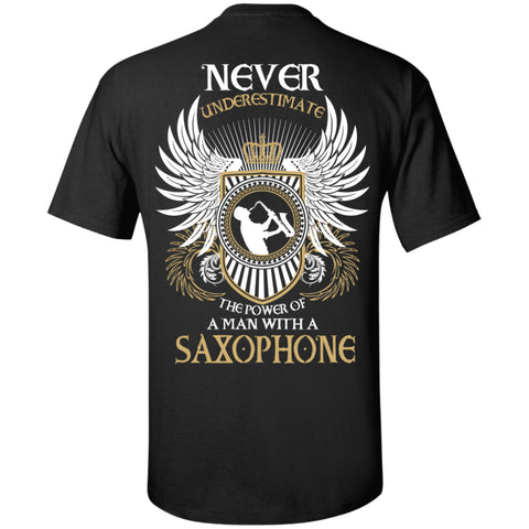 A Man With A Saxophone T-Shirt - MainTune - 1