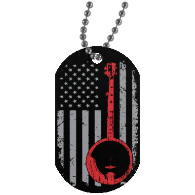 American 5 String Banjo Dog Tag - MainTune - 1