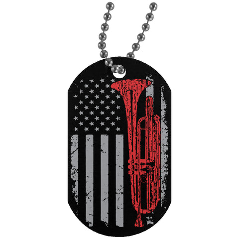 American Bass Trumpet Dog Tag - MainTune - 1