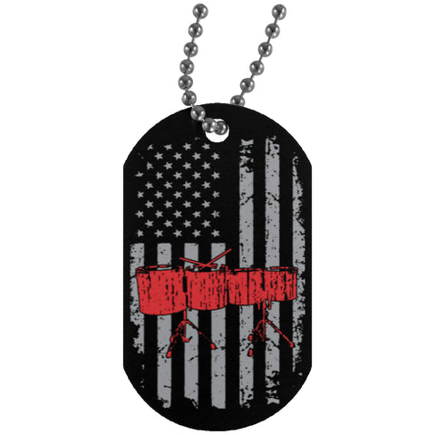 American Concert Toms Dog Tag - MainTune - 1