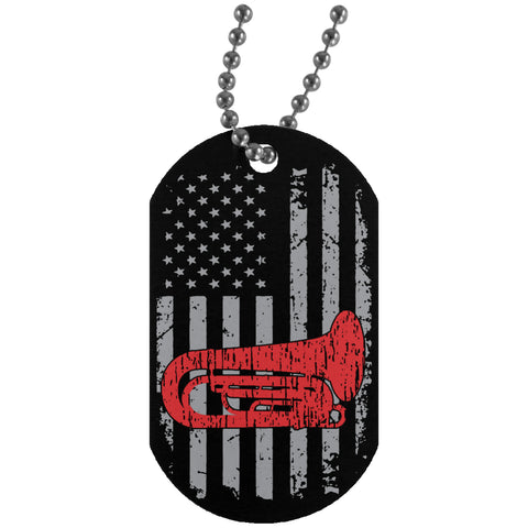 American Contrabass Bugle Dog Tag - MainTune - 1