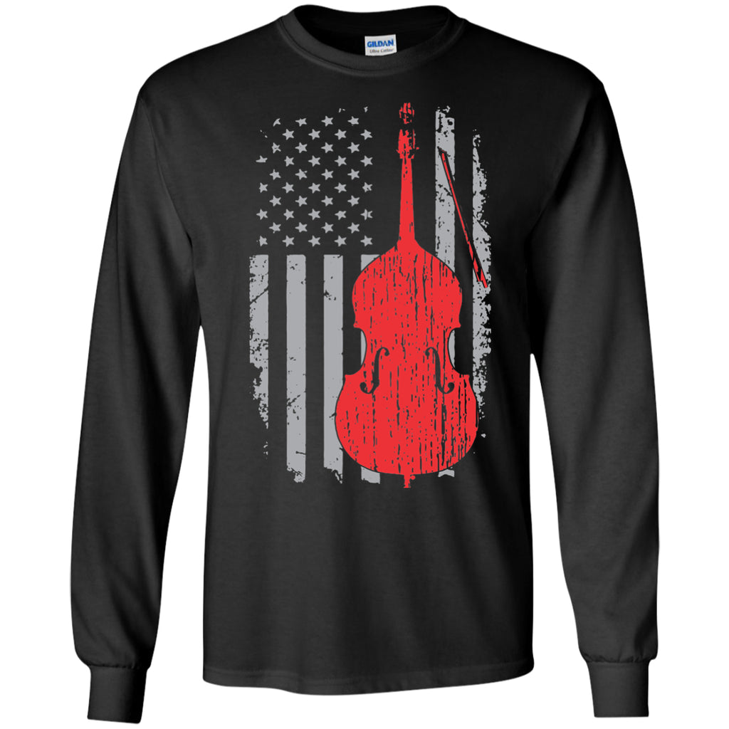 American Double Bass Long Sleeve/Sweatshirt - MainTune - 1