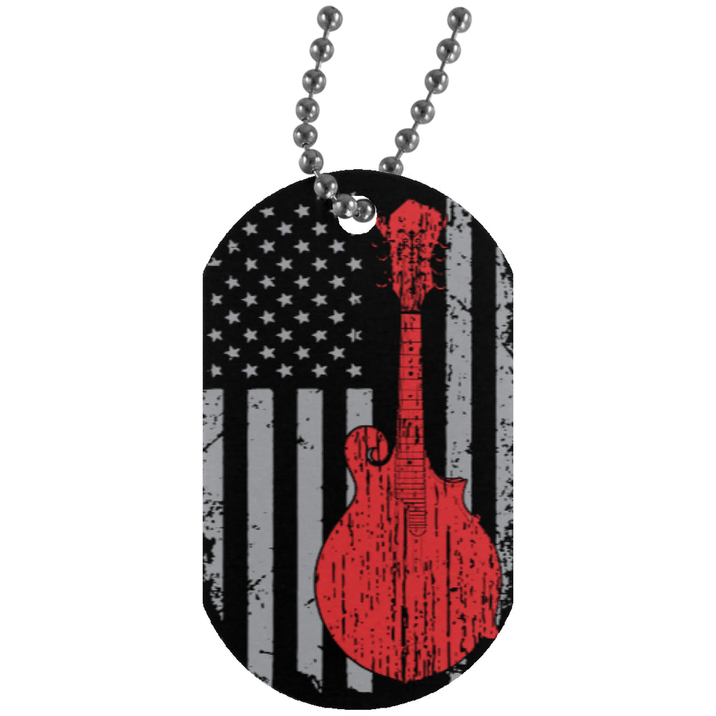 American F5 Mandolin Dog Tag - MainTune - 1