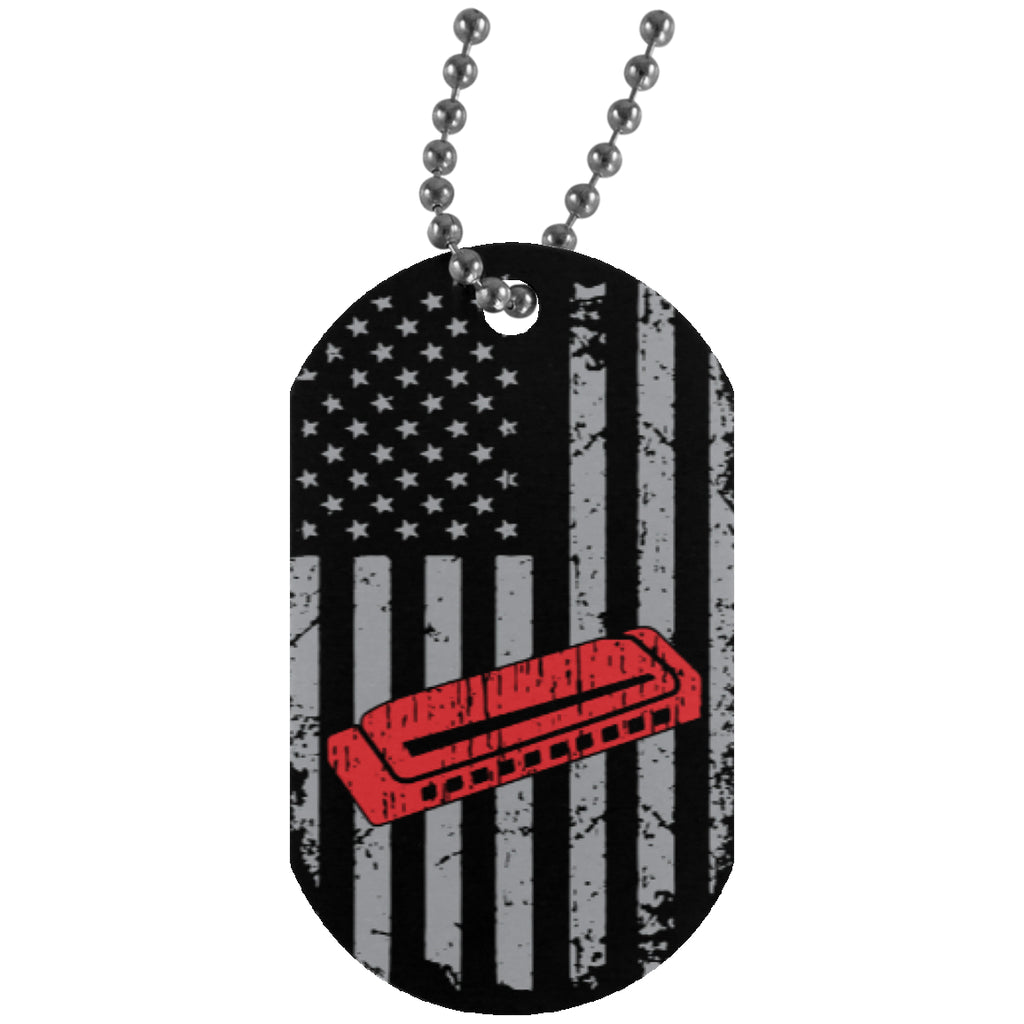 American Harmonica Dog Tag - Style 1 - MainTune - 1