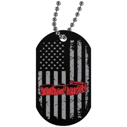 American Quad Drums Dog Tag - MainTune - 1