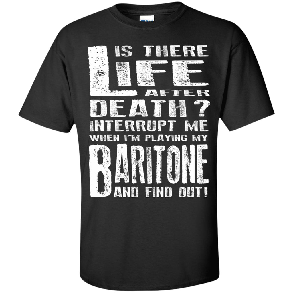 Don't Interrupt Me - Baritone Kids T-Shirt - MainTune - 1