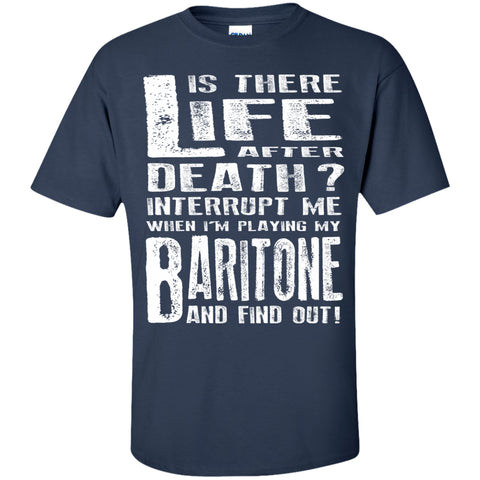 Don't Interrupt Me - Baritone Kids T-Shirt - MainTune - 2
