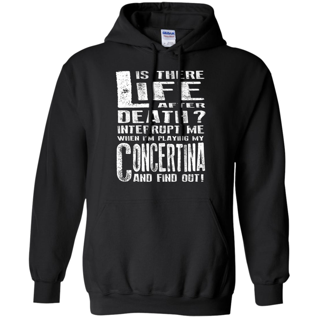 Don't Interrupt Me - Concertina Hoodie - MainTune - 1