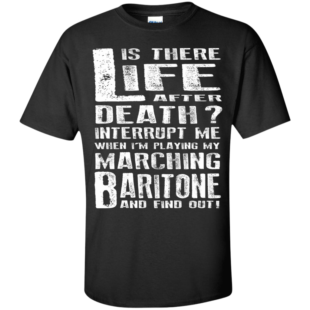 Don't Interrupt Me - Marching Baritone Kids T-Shirt - MainTune - 1