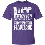 Don't Interrupt Me - Marching Baritone Kids T-Shirt - MainTune - 4