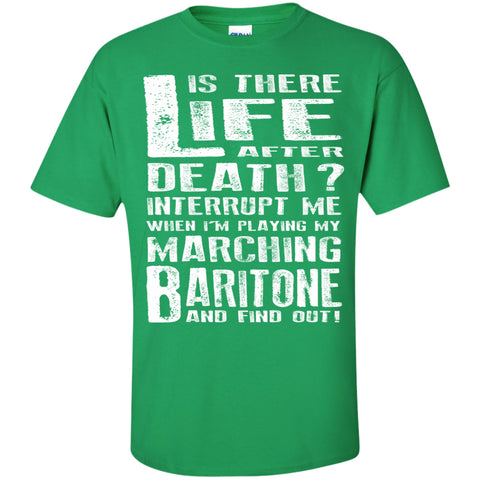 Don't Interrupt Me - Marching Baritone Kids T-Shirt - MainTune - 5