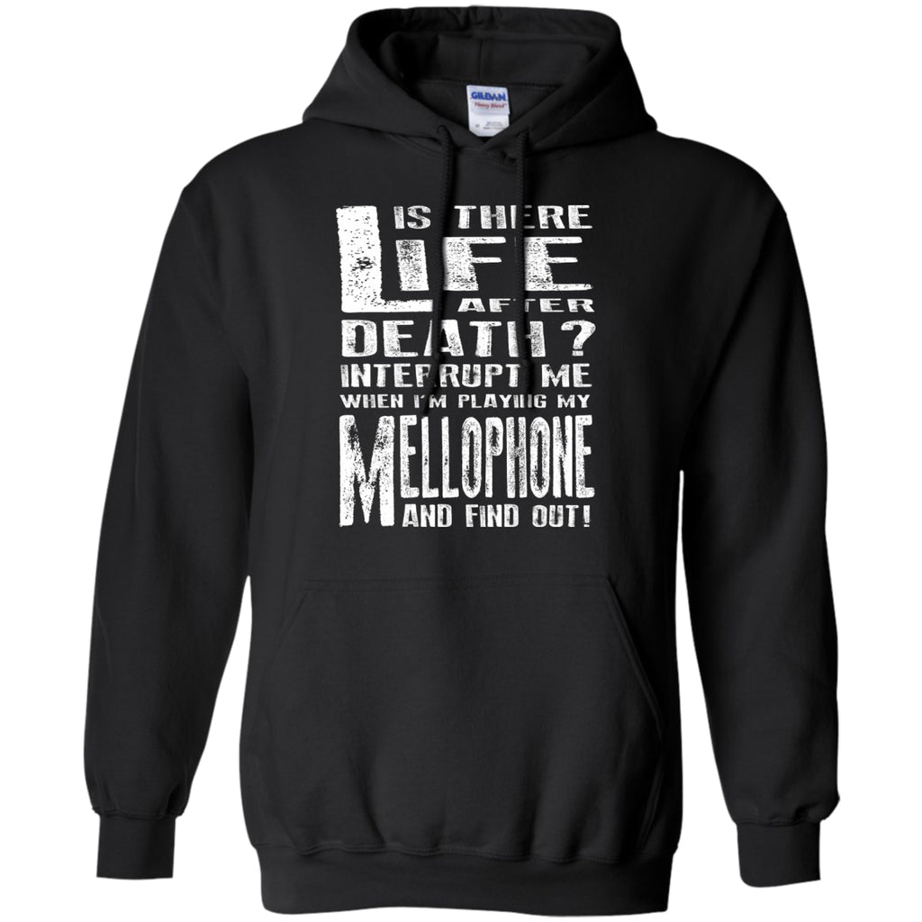 Don't Interrupt Me - Mellophone Hoodie - MainTune - 1