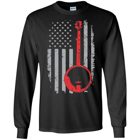 American 5-String Banjo Long Sleeve/Sweatshirt - MainTune - 1