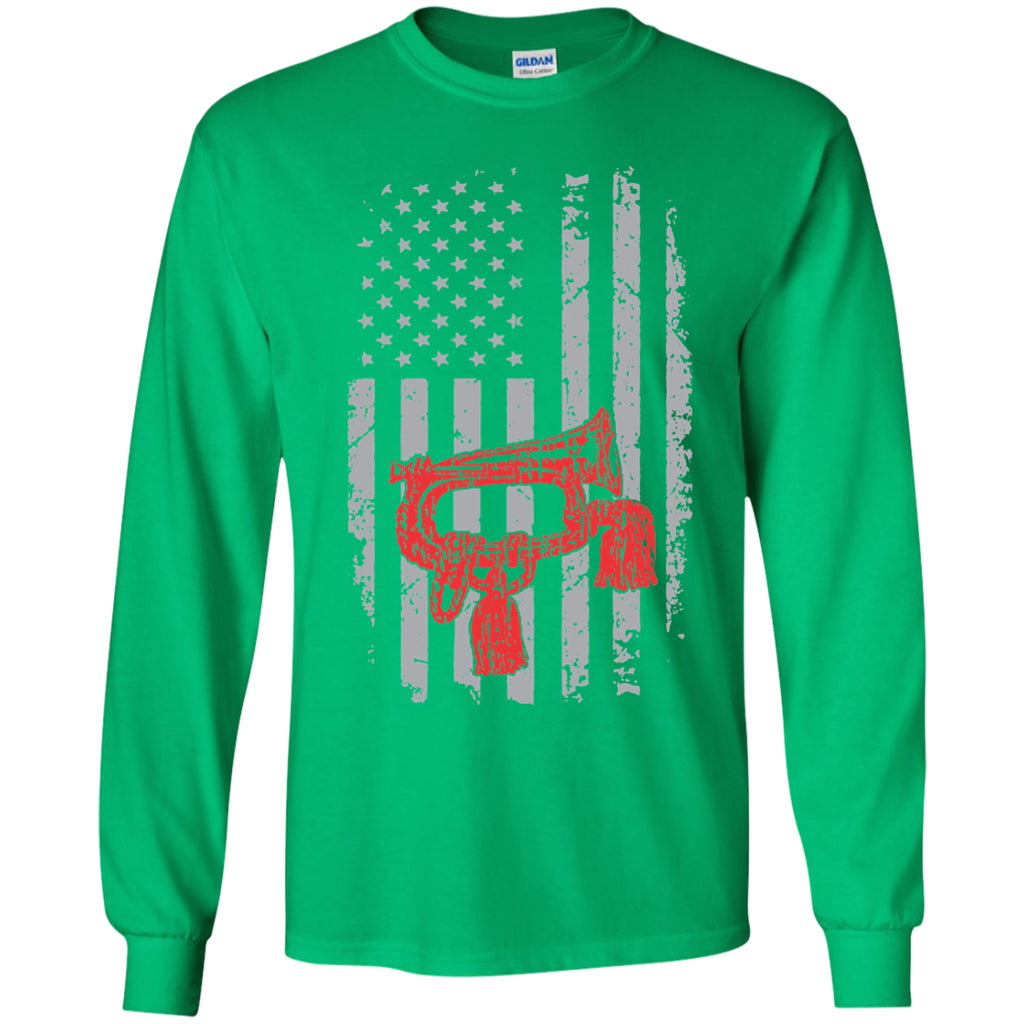 American Bugle With Cords Kids Long Sleeve - MainTune - 2
