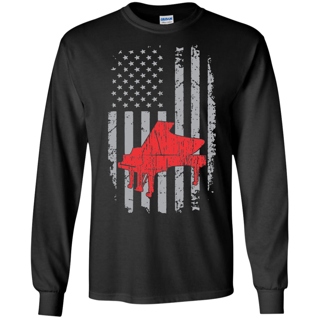 American Grand Piano Long Sleeve/Sweatshirt - MainTune - 1