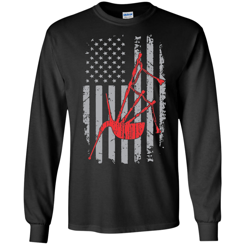 American Scottish Bagpipe Long Sleeve/Sweatshirt - MainTune - 1