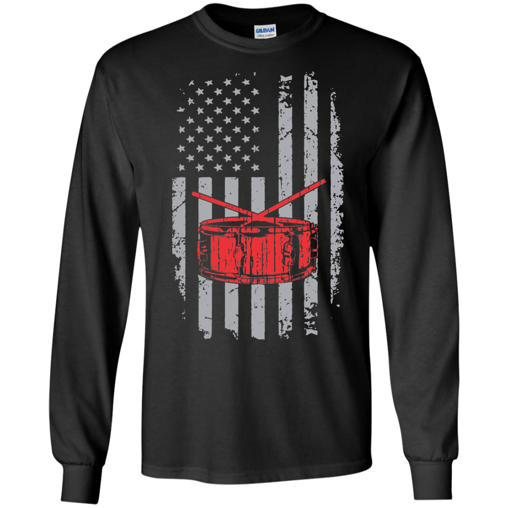 American Snare Drum Long Sleeve/Sweatshirt - MainTune - 1