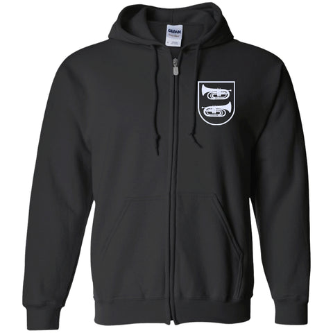 Marching Baritone Crest Zip Hoodie