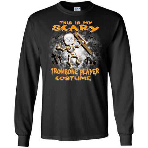 Scary Trombone Costume Long Sleeve/Sweatshirt - MainTune - 1