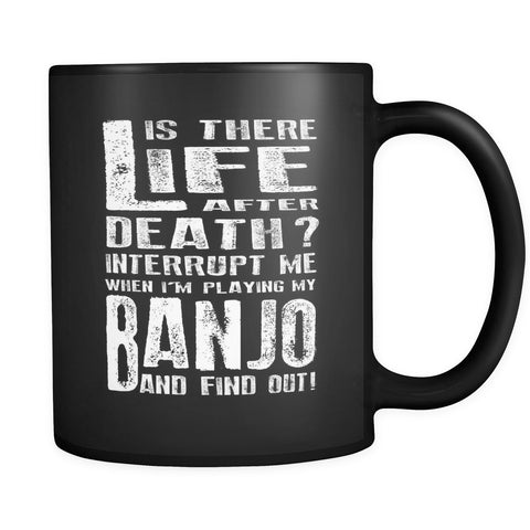 Don't Interrupt Me - Banjo Mug - MainTune - 1