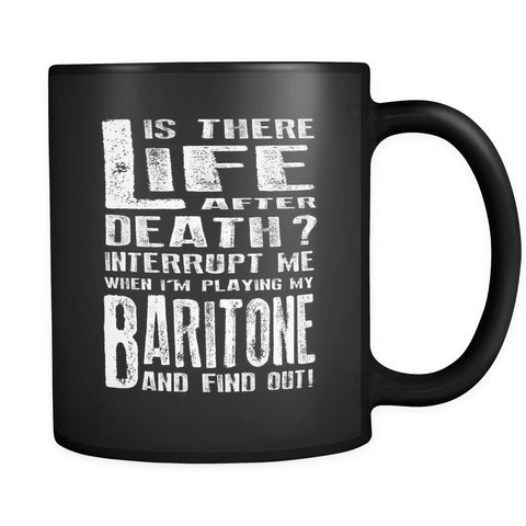 Don't Interrupt Me - Baritone Mug - MainTune - 1