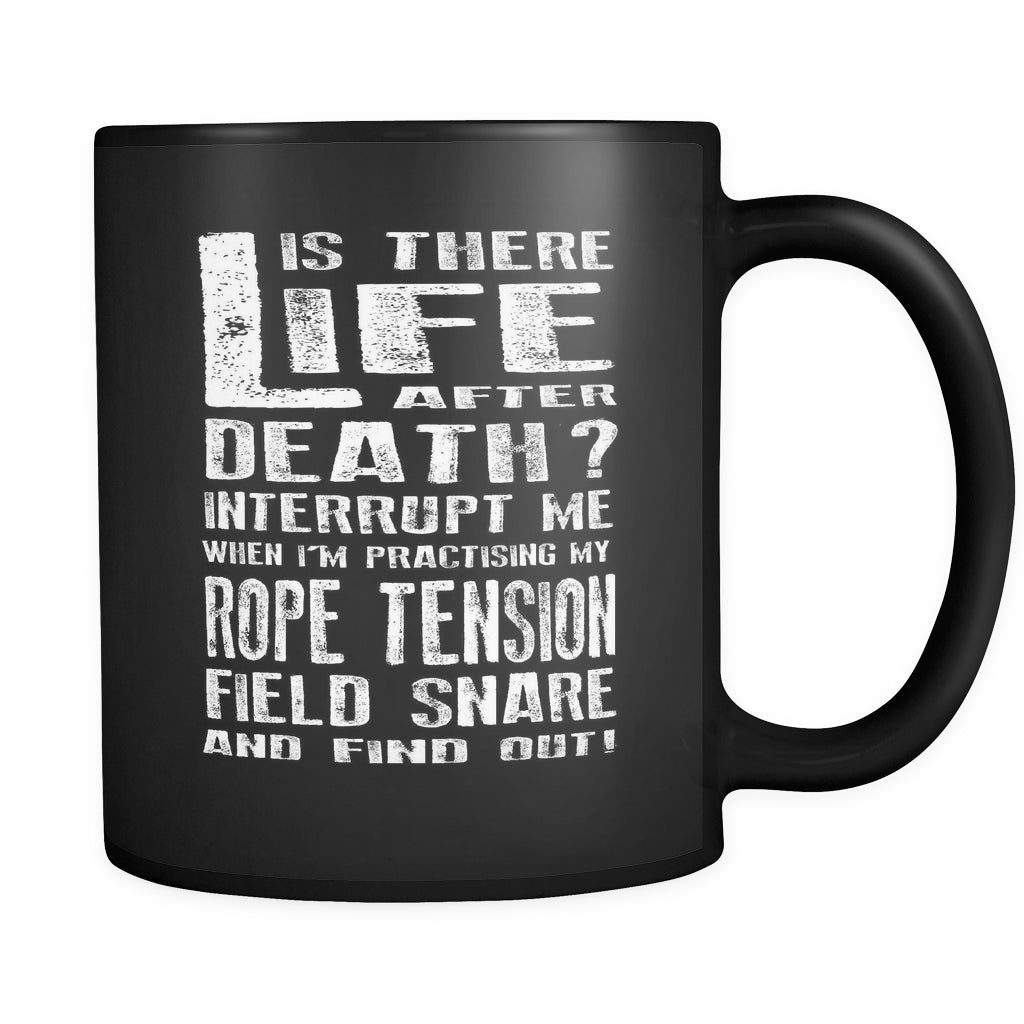 Don't Interrupt Me - Rope Tension Field Snare Mug - MainTune - 1