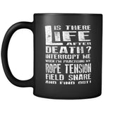 Don't Interrupt Me - Rope Tension Field Snare Mug - MainTune - 2