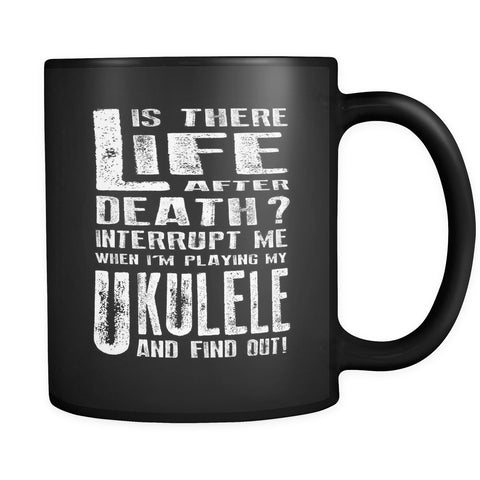 Don't Interrupt Me - Ukulele Mug - MainTune - 1