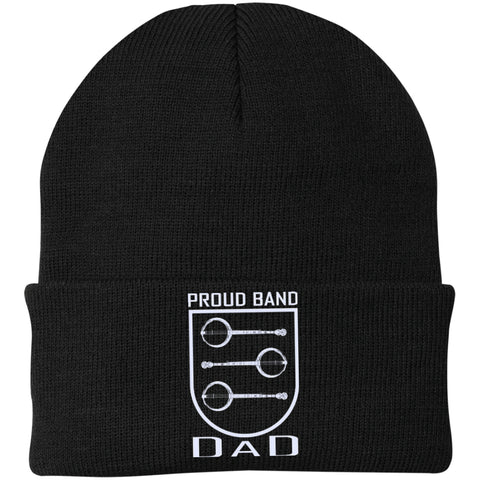 Banjo Dad Crest Knit Cap