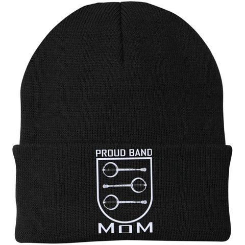 Banjo Mom Crest Knit Cap