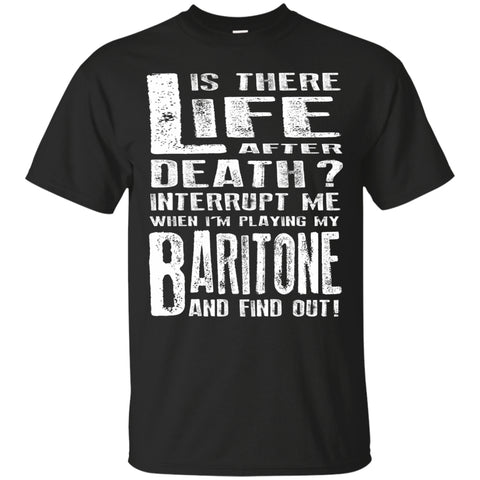 Don't Interrupt Me - Baritone T-Shirt