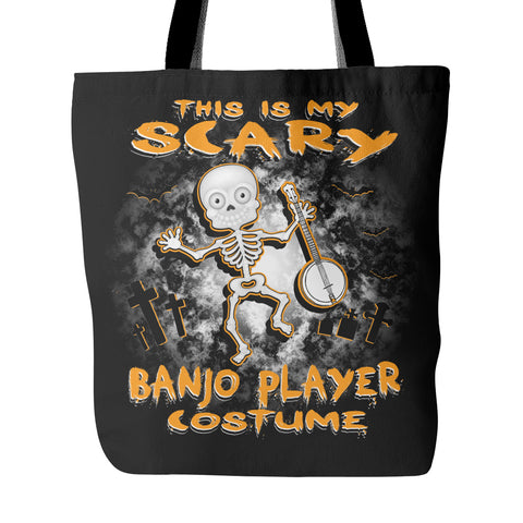 Scary Banjo Costume Tote Bag - MainTune