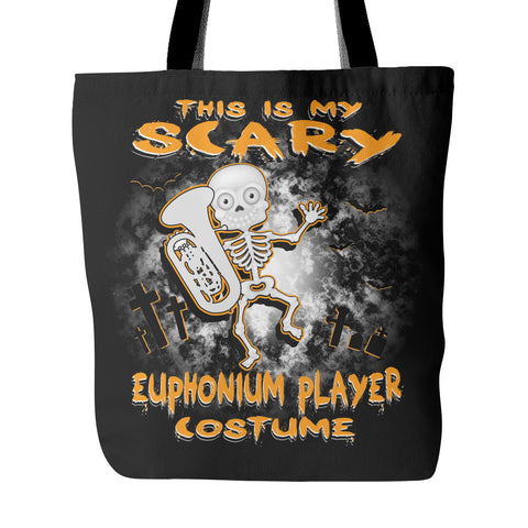 Scary Euphonium Costume Tote Bag - MainTune