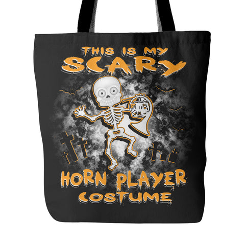Scary Horn Costume Tote Bag - MainTune