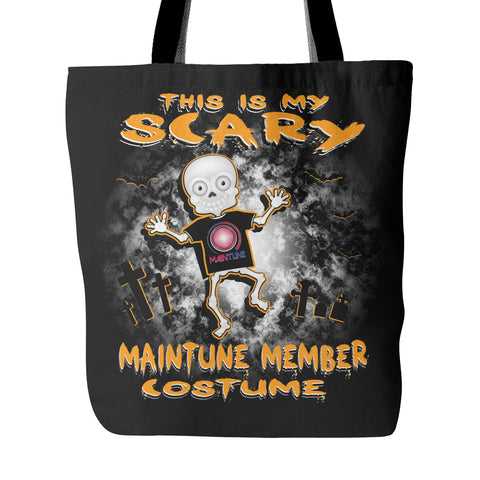 Scary MainTune Costume Tote Bag - MainTune