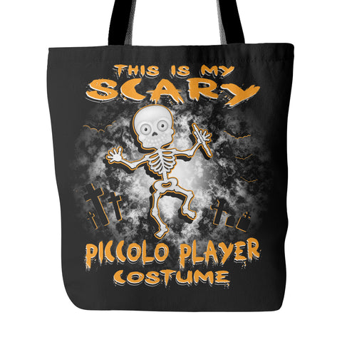 Scary Piccolo Costume Tote Bag - MainTune