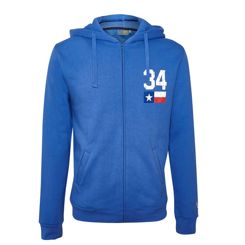 SWEATSHIRT Adult Hoody Bike MotoGP Legend Kevin Schwantz 34 NEW! Hoodie Blue