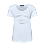 T-SHIRT Ferrari Sportscar ladies Vintage GT Racing New! Unforgettable White