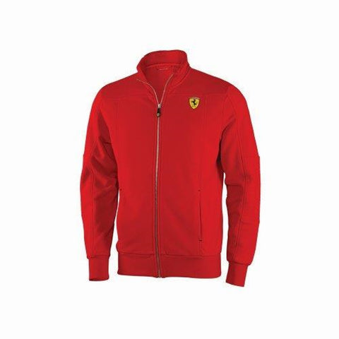Sweatshirt Jumper Zip Collar Mens Scuderia Ferrari F1 Team Formula One 1 NEW!