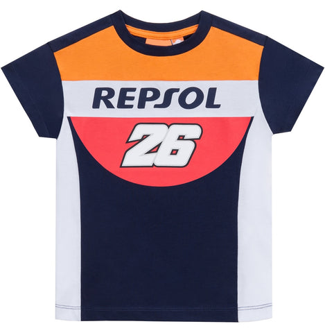 T-Shirt Kids Repsol Honda Team Childrens Pedrosa 26 MotoGP Bike Tee NEW!