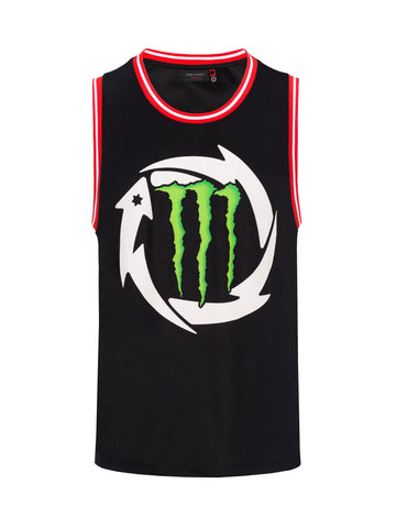 Top Mens Jorge Lorenzo 99 Monster Energy Ducati MotoGP Bike Basketball NEW!