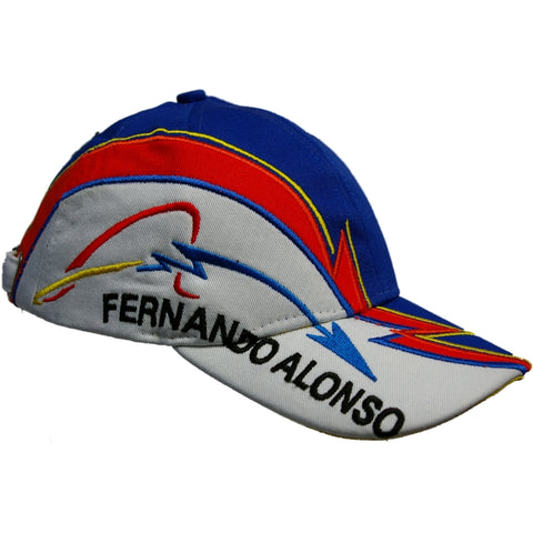 Cap childrens Size Formula One 1 Renault F1 Team NEW! Fernando Alonso kids
