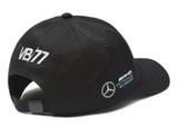 CAP Bottas Curved Peak Formula One 1 Mercedes AMG Petronas F1 NEW! Black