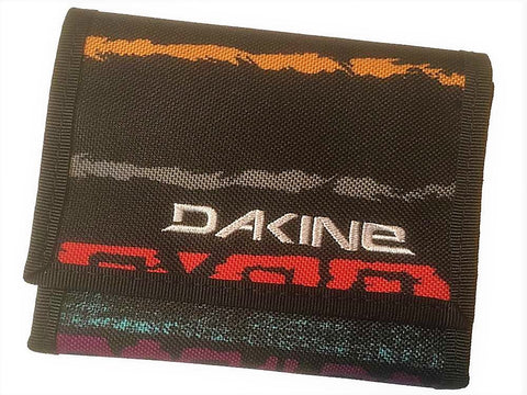 WALLET Dakine Ruins Purse Ripper Coins Notes Cards