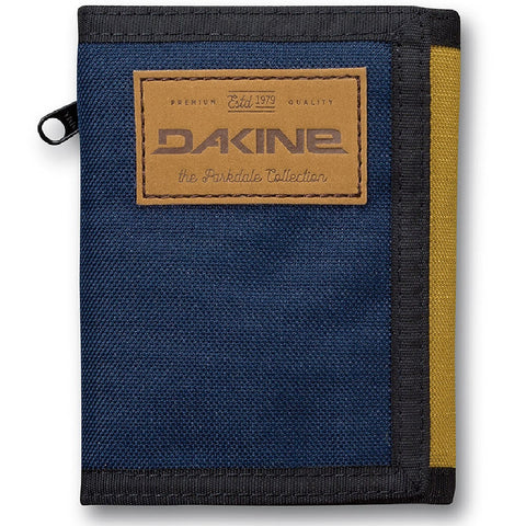 WALLET Dakine Darwin Fabric Zipped Purse Ripper Coins Notes Cards Identity NEW!
