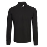 Poloshirt Lancia Delta Mens Longsleeve Polo Rally NEW! Embroidered Black