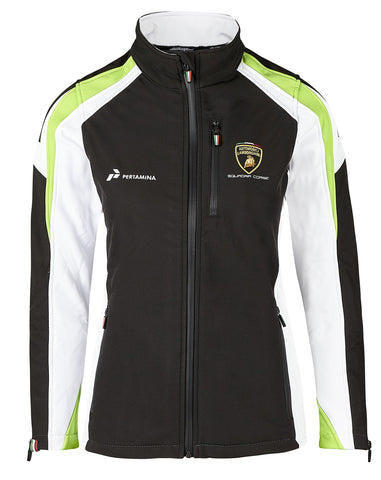 JACKET Ladies Softshell Automobili Lamborghini Sportscar Soft Shell NEW!