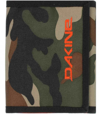 WALLET Dakine Camo Purse Ripper Coins Notes Cards Identity NEW! Camouflage Green