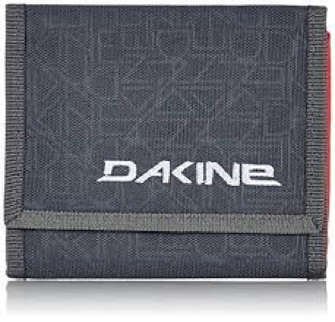 WALLET Dakine Domain Purse Ripper Coins Notes Cards Identity NEW! Grey & Orange